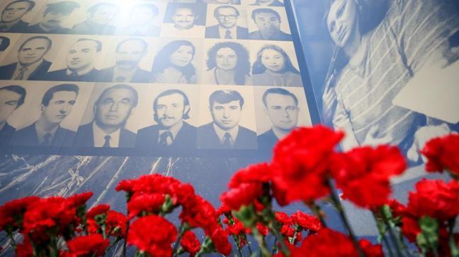 """Ermeni terörünün simgesi """"Şehit Diplomatlar Sergisi"""" açıldı"""