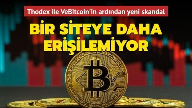 Thodex ve VeBitcoin'in ardından kripto borsalarında bir şok daha: GoldexCo.in'e de erişilemiyor!