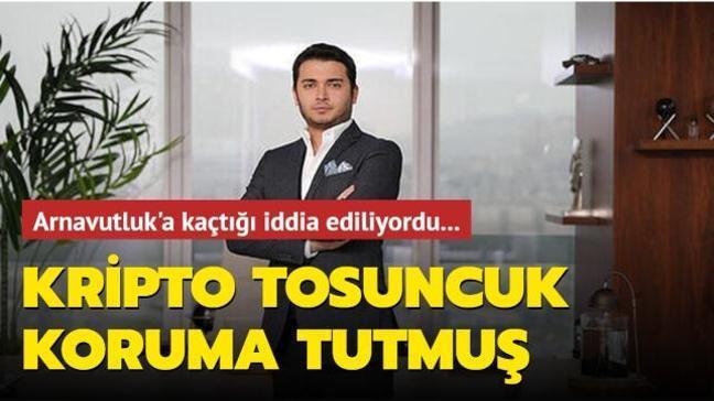 Arnavutluk'a kaçtığı iddia edilen kripto tosuncuk Faruk Fatih Özer koruma tutmuş