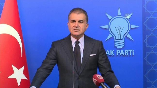 AK Parti Sözcüsü Ömer Çelik'ten Biden'a sert sözler
