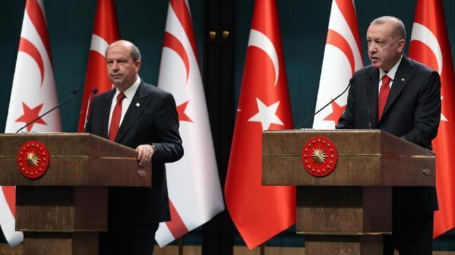Başkan Erdoğan'dan KKTC Cumhurbaşkanı Tatar'a taziye telefonu