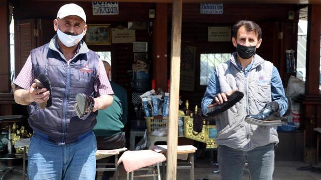 Denizli'de boyacı kardeşler 33 yıldır yan yana çalışıyor