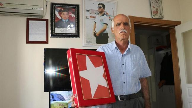 Gara şehidinin babası Irk'taki operasyonlar için mehmetçiğe destek mesajı verdi