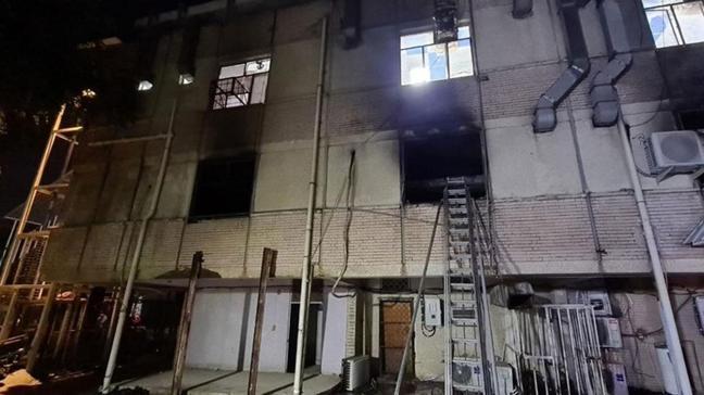 Irak'taki hastane yangınında ölenler için Türkiye'den taziye mesajı