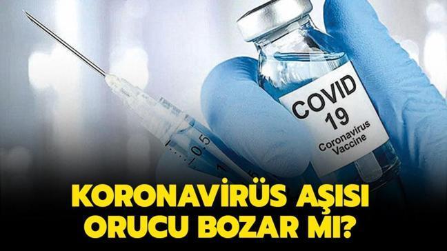 """Aşı vurulmak orucu bozuyor mu"""" Koronavirüs aşısı yaptırmak orucu bozar mı"""" Diyanet açıkladı!"""