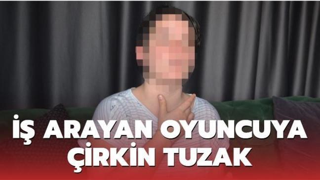 İş ilanı için giden tiyatrocu kadın cinsel saldırıya uğradı