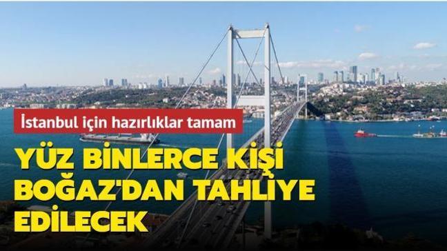 Olası İstanbul depremi için hazırlıklar tamamlandı