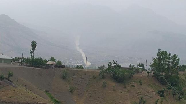 Avaşin ve Hakurk'taki terör hedefleri obüslerle vuruldu