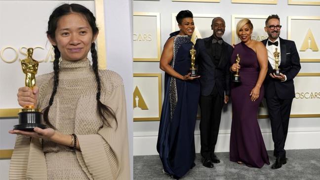 Oscar'ın çok konuşulan kırmızı halı kıyafetleri
