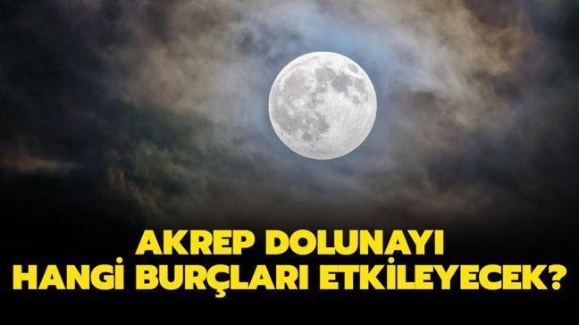 """27 Nisan Akrep dolunayı hangi burçları etkileyecek"""" Pembe Ay'ın burçlara etkisi ne olacak"""""""