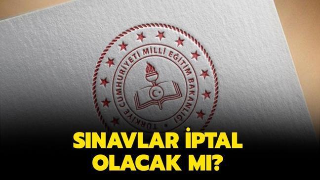 """3 Mayıs sınavlar ertelendi mi"""" Sınavlar iptal olacak mı, son durum nedir"""""""