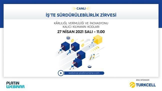 Turkcell ana sponsorluğunda İş'te sürdürülebilirlik zirvesi yarın gerçekleşiyor