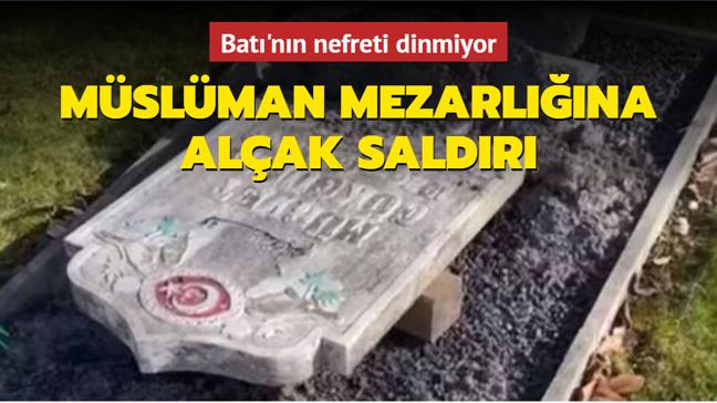 İsveç'te Müslümanlara ait bir mezarlık saldırıya uğradı