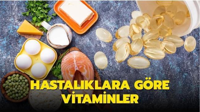 Hastalıklara göre vitaminler