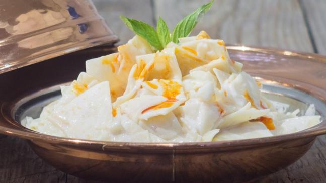 Afyonkarahisar'ın meşhur lezzeti velense yemeğine tescil