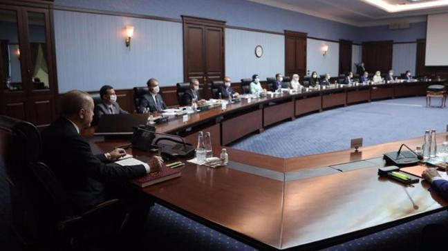 AK Parti Merkez Karar ve Yönetim Kurulu toplantısı sona erdi