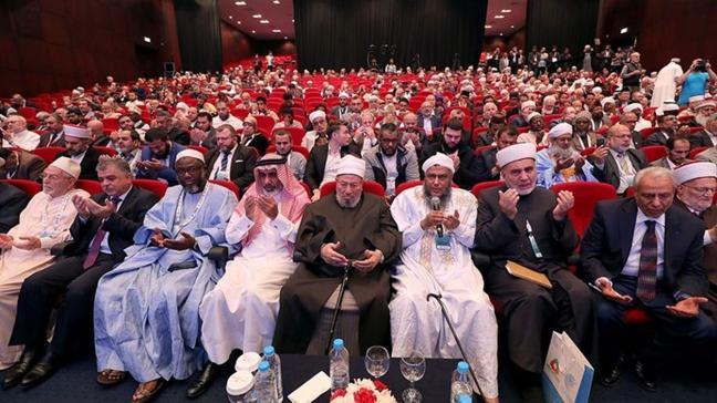 """Dünya Müslüman Alimler Birliği'nden Filistinlilere övgü: """"Kahramanlık örneği sergilediler"""""""