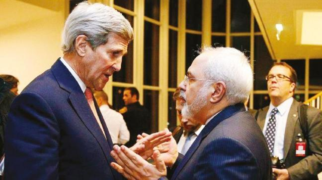 İran Dışişleri Bakanı Cevad Zarif, ABD'li mevkidaşı John Kerry'yi ele verdi