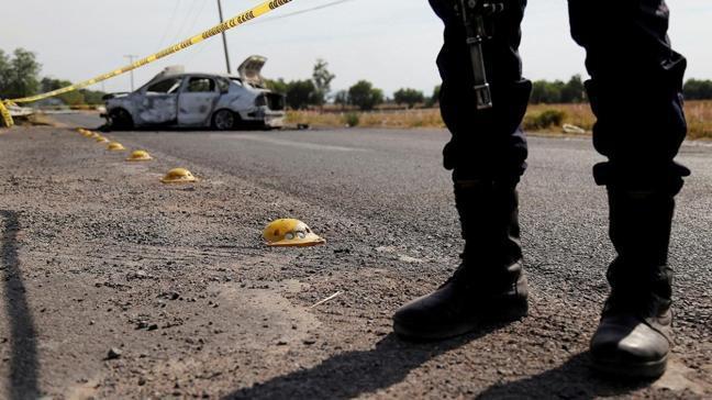 Meksika'da uyuşturucu kartellerinin çatışmasında 8 kişi öldü