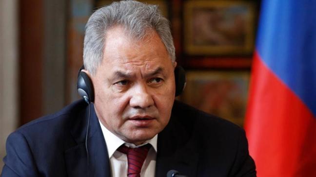 """Son dakika haberi... Rusya Savunma Bakanı Şoygu: """"Sınırları korumak için gerekeni yapacağız"""""""