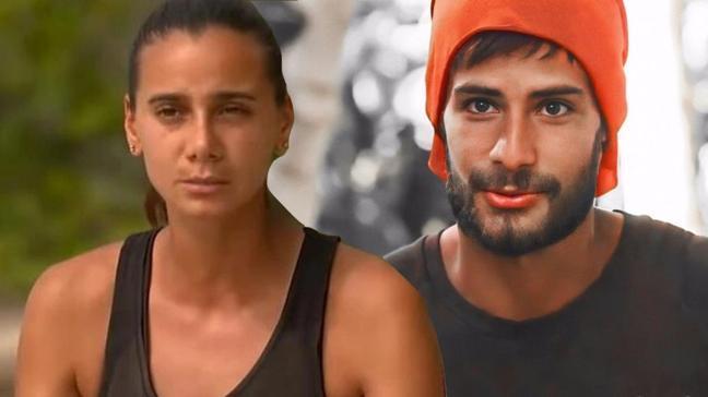Survivor Batuhan Karacakaya ve Melis Sezer arasında ipler gerildi: Sevgili tribi yiyorum