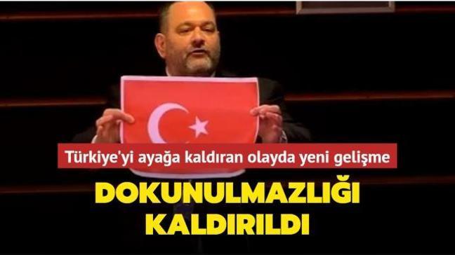 Türkiye'yi ayağa kaldıran görüntüler hakkında yeni gelişme! Irkçı Yunan vekilin dokunulmazlığı kaldırıldı