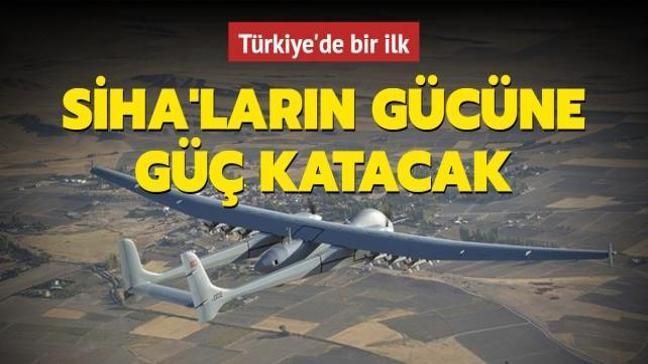 Türkiye'de bir ilk! KGK-SİHA-82 SİHA'ların gücüne güç katacak