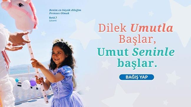 29 Nisan Dünya Dilek Günü'nde Make-A-Wish® Türkiye hasta çocuklara umut olacak yıldızları arıyor
