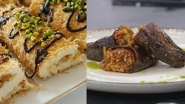 """Bugün ne pişirsem"""" Ramazan'ın 16.Günü iftar menüsü: Kuru patlıcan dolması ve paşa sarması"""
