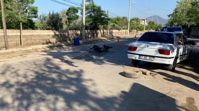 Gaziantep'te kamyonetle çarpışan motosikletli öldü