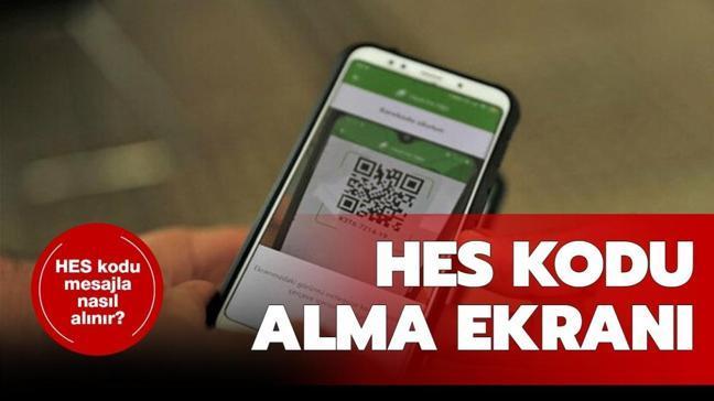 """E-devlet ve mesajla HES kodu alma sayfası: HES kodu alma ve sorgulama nasıl yapılır"""""""