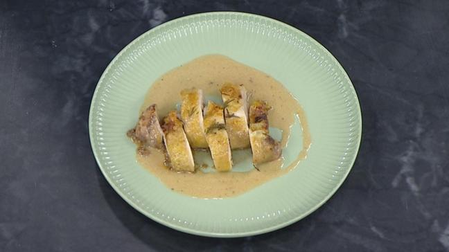 İftara farklı yemek: Nefis mantarlı tavuk sarma tarifi
