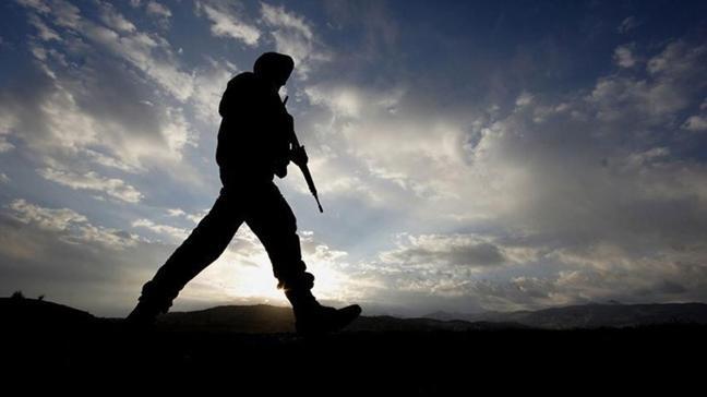 Irak'ın kuzeyinde 1 askerimiz şehit oldu