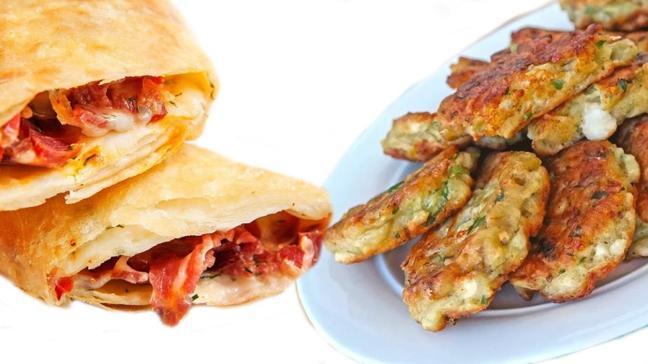 Ramazan'a özel mücver ve paçanga böreği tarifi! En iyi ara sıcak tarifleri