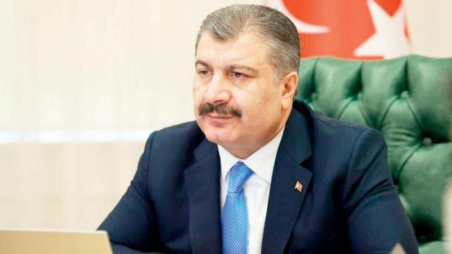 Sağlık Bakanı Fahrettin Koca: BioNTech'te 2 doz arası artık 6-8 hafta
