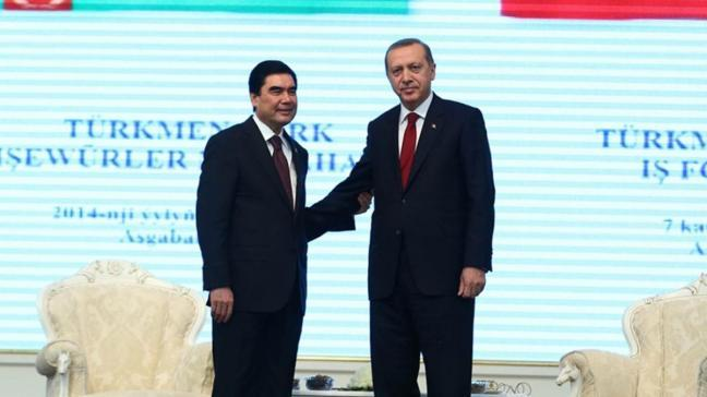 Son dakika haberi: Başkan Erdoğan'dan Berdimuhammedov'a taziye