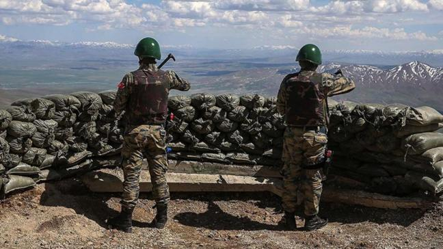 Son dakika haberi: Bir PKK'lı Türkiye'ye girerken yakalandı