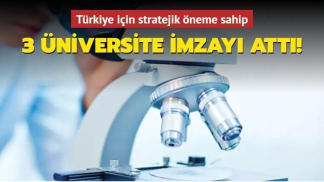 Biyoteknoloji alanında 3 üniversiteden işbirliği