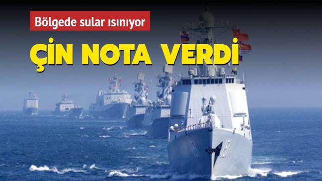 Çin'den ABD'ye nota: USS Mustin destroyerini bölgeden çekin