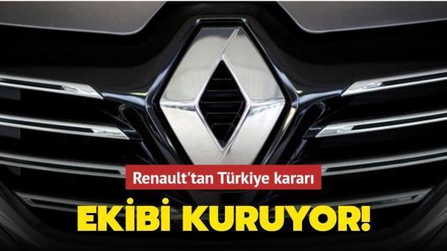 Renault Türkiye'de mühendislik ekibi kuruyor