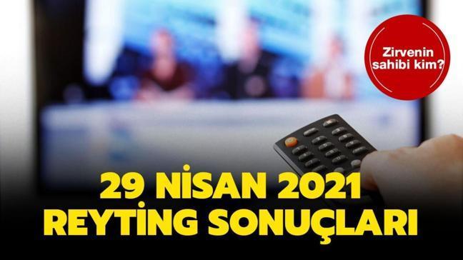 29 Nisan 2021 reyting sonuçları açıklandı! Bir Zamanlar Çukurova, Camdaki Kız, Bir Zamanlar Kıbrıs reyting sıralaması!