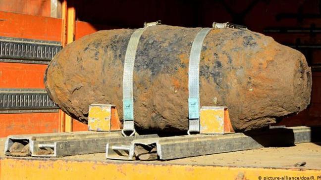 İkinci Dünya Savaşı'ndan kalma... Amerikan yapımı bomba imha edildi