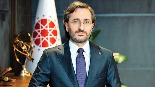 İletişim Başkanı Fahrettin Altun: Fransa AA'ya baskıya son versin