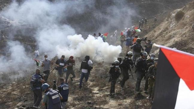 İsrail'den Filistinlilere müdahale