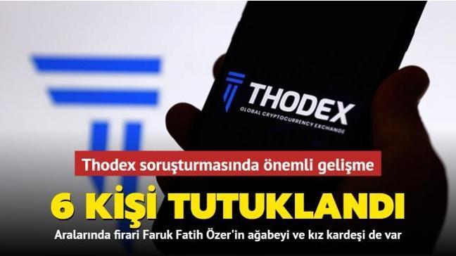 Thodex soruşturmasında önemli gelişme
