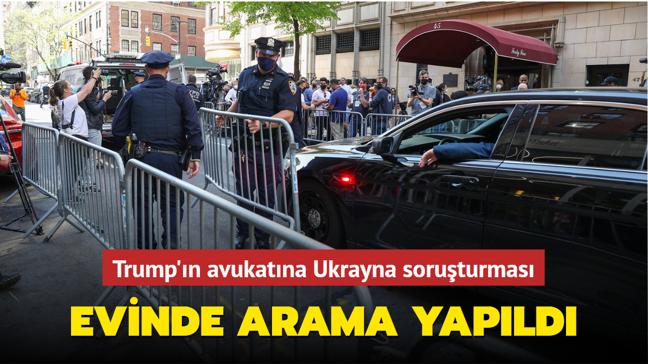 Trump'ın avukatına Ukrayna soruşturması... Evinde arama yapıldı