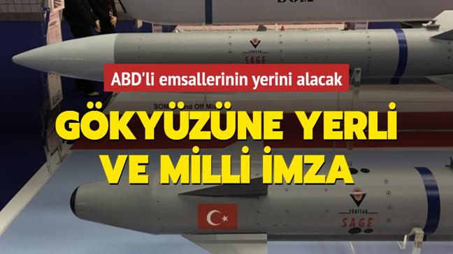 İlk yerli ve milli hava-hava füzesi Bozdoğan ile Gökdoğan ABD'li emsallerinin yerini alacak