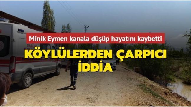 Iğdır'da kanala düşüp hayatını kaybeden Eymen'in ölümüne ilişkin çarpıcı iddia