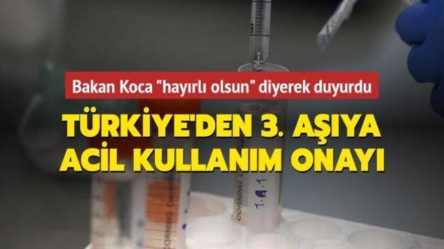 Son dakika haberi: Sputnik V aşısının acil kullanımına onay verildi