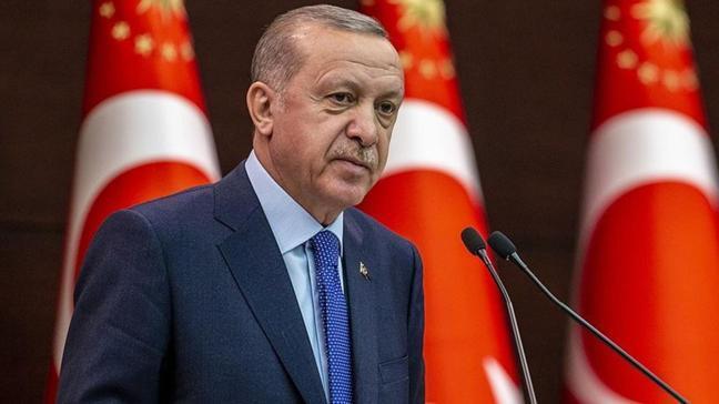 Başkan Erdoğan'dan salgın kısıtlamalarında hak kayıplarına yönelik düzenlemelere ilişkin paylaşım